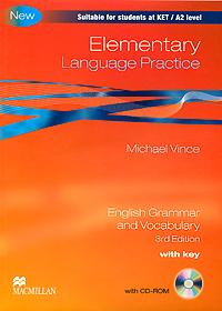 Elementary Language Practice: With Key: English Grammar and Vocabulary (+ CD-ROM) english language and bilingualism