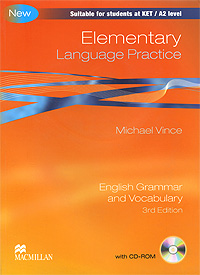 Elementary Language Practice: Without Key: English Grammar and Vocabulary (+ CD-ROM) global elementary coursebook with eworkbook pack