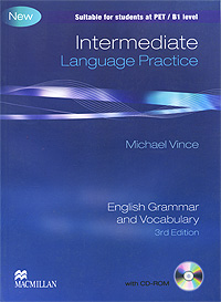 Intermediate Language Practice: Without Key: English Grammar and Vocabulary (+ CD-ROM) michael vince macmillan english grammar in context intermediate level cd rom