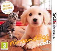 Nintendogs + Cats. Голден-ретривер и новые друзья (3DS) protective aluminum case for nintendo 3ds silver