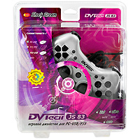 Джойстик PC/PS3 DVTech JS83 Shock Stream