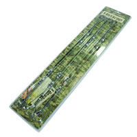 Набор плоских шампуров Boyscout, 60 см, 6 шт набор плоских шампуров archimedes 88420