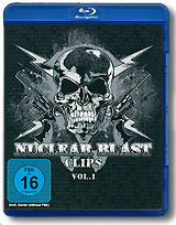 Various Artists: Nuclear Blast Clips, Vol. 1 (Blu-ray) dimmu borgir dimmu borgir in sorte diaboli deluxe edition cd dvd