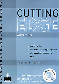Cutting Edge: Advanced: Teachers Book (+ CD-ROM)