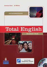 Total English: Intermediate: Student's Book (+ DVD-ROM) total english pre intermediate students book dvd rom