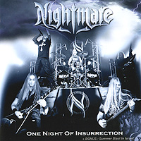 Nightmare Nightmare. One Night Of Insurrection (CD + DVD) maccabi fox tel aviv khimki moscow region