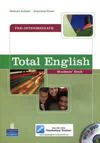 Total English: Pre-Intermediate: Students' Book (+ DVD-ROM) mccarthy m english vocabulary in use upper intermediate 3 ed with answ cd rom английская лексика