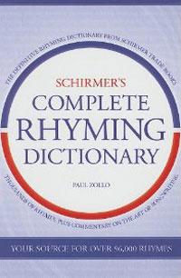 Schirmers Complete Rhyming Dictinary
