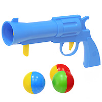 Пистолет Stellar с шариками стеллар погремушка дудочка стеллар