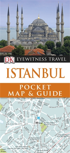DK Eyewitness Pocket Map and Guide: Istanbul купить