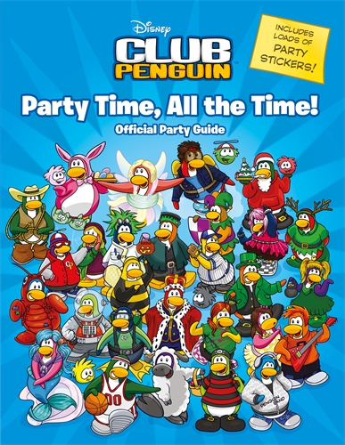 Club Penguin: Party Time, All the Time! penguin active reading easystarts the blue cat club book