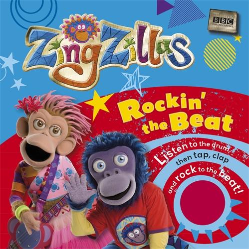 цена на ZingZillas: Rockin' the Beat Sound Book