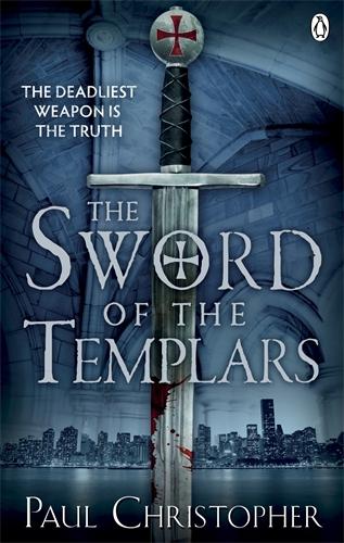 The Sword of the Templars sword in the storm