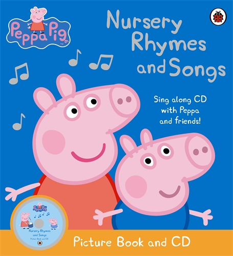 Peppa Pig's: Nursery Rhymes and Songs (+ CD) peppa pig транспорт 01565