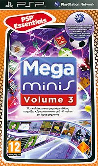 Mega Minis Volume 3 (PSP), Sony Computer Entertainment (SCE)