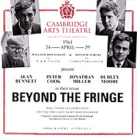 Алан Беннет,Питер Кук,Джонатан Миллер,Дадли Мур Beyond The Fringe (Live At Cambridge Arts Theatre 24th April 1961) (2 CD) музыка cd dvd beyond dsd cd