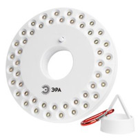 ЭРА Кемпинг K48K48Светодиодный кемпинговый фонарь ЭРА Кемпинг.Для освещения палаток, стоянок, как запасной источник света48 белых светодиодовКронштейн для подвешиванияМагниты для крепления к металлическим поверхностямКорпус из ударопрочного пластикаПитание от 3 батарей типа АА (в комплект не входят)