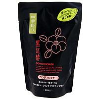 Кондиционер Shiki-Oriori c экстрактом черной камелии, для сухих и поврежденных волос, сменная упаковка, 400 мл кондиционер для волос natvra j япония spr 500 мл