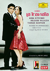 Verdi - La Traviata / Anna Netrebko, Rolando Villazon, Thomas Hampson verdi un ballo in maschera 2 dvd
