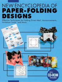 New Encyclopedia of Paper-Folding Designs: Effective Techniques for Folding Direct Mail, Announcements, Invitation Cards and more design dots flower ribbons cartoon pink bow invitations card for wedding printing blank paper invitation cards kit laser cut