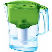Фильтр-кувшин для воды Аквафор Ультра, цвет: прозрачный, салатовый, 2,5 л фильтр кувшин для воды аквафор стандарт цвет голубой прозрачный 2 5 л