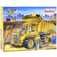 BanBao Конструктор Самосвал грузовой конструктор banbao пожарный джип 158 элементов 8299