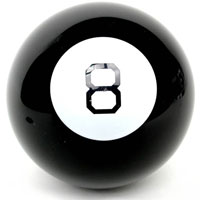Магический шар 8Mball9Знаменитый мобильный предсказатель - магический шар 8 - привлечет внимание не только ребенка, но и взрослого и даст ответы на все интересующие вопросы. Суть работы Магического шара предельно проста и от того гениальна: вы задаете шару вопрос, легонько трясете, переворачиваете его восьмеркой вниз, и на экране с обратной стороны шара всплывает ответ. Это действительно магия, так как большинство ответов попадают в точку! Необходимо помнить, что ответы, которые дает шар, могут не соответствовать действительности, т.к. шар - это игрушка, а не инструмент гадания, дающий точные ответы. Шар дает ответы на русском языке.Игрушка поднимет настроение вам и вашим близким и станет отличным подарком любителю всего необычного и оригинального. Характеристики: Диаметр шара: 10 см. Количество ответов: 20. Размер упаковки: 10 см x 10 см x 10 см.УВАЖАЕМЫЕ КЛИЕНТЫ!Обращаем ваше внимание на тот факт, что данный товар относится к группе товаров, чувствительных к минусовой температуре. Под воздействием низких температур возможно замерзание жидкости и в дальнейшем ее протекание, поэтому рекомендуем учитывать данное обстоятельство при заказе товара в зимний период времени. Также обращаем ваше внимание на возможные изменения в дизайне упаковки.Комплектация осталась без изменений.