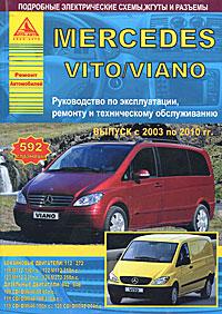 Mercedes Vito/Viano с 2003 по 2010 гг. Руководство по эксплуатации, ремонту и техническому обслуживанию toyota toyoace dyna 200 300 400 модели 1988 2000 годов выпуска с дизельными двигателями руководство по ремонту и техническому обслуживанию