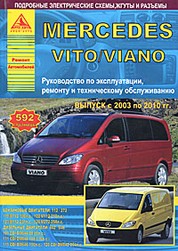 Mercedes Vito/Viano с 2003 по 2010 гг. Руководство по эксплуатации, ремонту и техническому обслуживанию mercedes benz ml w163 ml320 ml430 модели 1997 2002 гг выпуска с бензиновыми двигателями m112 3 2 л и m113 4 3 л руководство по ремонту и техническому обслуживанию