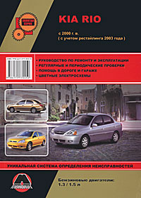 Kia Rio с 2000 г.в. Руководство по ремонту и эксплуатации