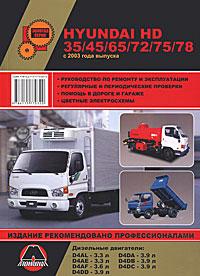 Hyundai HD35/45/65 /72/75/78 с 2003 г. Руководство по ремонту и эксплуатации seintex 84872 hyundai hd 65 72 78
