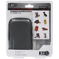 Чехол EVA с наклейками для приставки DS Lite (черный) стилус для nintendo ds lite бирюзового цвета комплект из 3 шт