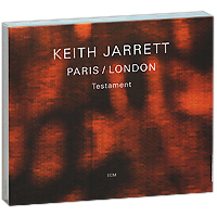 Кейт Джарретт Keith Jarrett. Testament. Paris / London (3 CD)