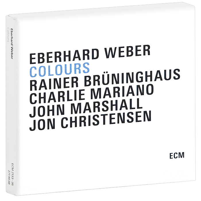 Eberhard Weber.  Colours (3 CD)