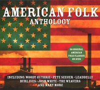 Пит Сигер,Джош Уайт,Берл Айвс,Вуди Гатри,Одетта,The Weavers American Folk Anthology (2 CD) st ives stives 170g