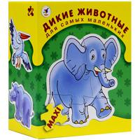 Дикие животные. Пазл, 20 элементов дрофа медиа обучающий плакат животные россии