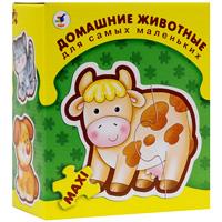 Домашние животные. Пазл, 16 элементов дрофа медиа обучающий плакат животные россии