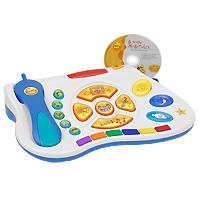 Развивающая приставка для Вашего ребенка Easy PC4601250206806Новый шаг в мировой истории развития компьютерных игр для детей! Игровой обучающий центр у Вас дома! Ваш ребенок растет и развивается с Comfy! Easy PC- развлекательная и обучающая система от Comfy, открывающая ребенкy в возрасте от1года до5лет целый мир веселья и интерактивных приключений! Большие разноцветные кнопки на клавиатуре, дружелюбные анимированные персонажи в играх, увлекательные истории и чудесная музыка!Easy PC позволяет детям учиться и развлекаться в процессе интерактивной игры, установленной на Вашем стационарном или переносном компьютере. Просто вставьте компакт-диск и начинайте играть. Наблюдайте, как ребенок нажимает на клавиши и участвует в различных интерактивных процессах. Easy PC помогает детям развить моторику и логические способности, речевые и математические навыки, эмоциональность и коммуникативные навыки, а также познакомиться с иностранными языками. К комплекту можно докупить дополнительные игры для развития мышления, логики, памяти и пополнения словарного запаса. Специально разработанное программное обеспечение предлагает различные уровни развивающего обучения. Игра растет вместе с Вашим ребенком, чтобы он обучался и познавал новое в удобном ему темпе.Система Easy PC была разработана в соответствии с Циклом развития Comfy 3C, чтобы стимулировать детскую любознательность параллельно с эффективным обучением. Игра обеспечивает для малышей богатую интерактивную среду, чтобы пробудить в них врожденную любознательность и направить ее в познавательное русло. Интересный и увлекательный контент, подобранный по возрасту и уровню развития, вдохновляет и мотивирует ребенка максимально полно использовать свои способности. Система Easy PC развивает уверенность ребенка в себе, творческое мышление, навыки решения проблем, поскольку позволяет играть независимо и принимать активное участие в происходящем. Ознакомительная игра Первые шаги в комплекте с клавиатурой позволяет:Потрогать и почувствова