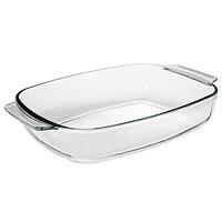 """Для всех любителей домашней выпечки эта прямоугольная форма """"Unit"""" будет отличным выбором. Форма выполнена из закаленного стекла, что обеспечивает оптимальное распределение тепла.  br> Основные достоинства предлагаемой формы:   в этой посуде можно хранить готовое блюдо;  можно использовать в микроволновой, конвекционной печи и духовке;  подходит для хранения продуктов в холодильнике и морозильной камере;  можно мыть в посудомоечной машине;  устойчива к температурам от -30°C до +250°C;  идеально подходит для сервировки стола. Характеристики:  Материал:  закаленное стекло. Объем:  3,7 л. Размер по верхнему краю без ручек:  33,5 см х 25 см. Длина с ручками: 38 см. Глубина: 6,5 см. Размер упаковки: 38,5 см х 26 см х 6,5 см. Производитель: Австрия. Изготовитель: Китай. Артикул: UCW-5115/38."""