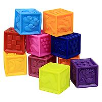 B.Dot Кубики мягкие One Two Squeeze battat 2