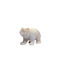 "Статуэтка ""Медведь"". Халцедон, House of Faberge, 90-е гг. ХХ века"