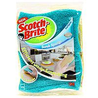 Набор целлюлозных губок Scotch-Brite, для деликатной чистки, цвет: голубой, 2 штFN510079778Целлюлозная губка для деликатной чистки Scotch-Brite предназначена для ухода за посудой со специальным покрытием, за стеклом, фарфором, керамикой, пластиком, кафелем, хромированными поверхностями.Специальное латексное покрытие делает волокна более мягкими, а пластиковые частицы заменяют привычные абразивные гранулы. Также может применяться на кухне и в ванной комнате.Преимущества: инновационный продукт на рынке чистящих средств дляделикатной и эффективной чистки с применениемтехнологии Ультра Флекс, являющейся гарантией деликатной чисткиспециальное латексное покрытие делает волокна более мягкими, а пластиковые частицы заменяют привычные абразивные гранулыцеллюлозный слой обладает высокими впитывающими свойствами и удаляет остатки воды с поверхности после чисткиимеет яркий дизайн.Характеристики:Материал: 100% целлюлоза. Размер: 10,2 см х 7 см х 2,5 см. Количество:2 шт. Изготовитель:Франция. Артикул: FN510079778.