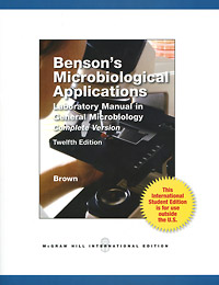 Benson's Microbiological Applications: Laboratory Manual in General Microbology: Complete Version sustainable energy laboratory manual