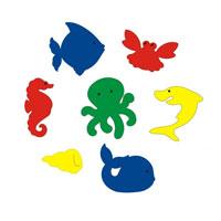 Набор для ванны Подводный мир. 55390 подводный мир набор закладок серия 3 5 шт