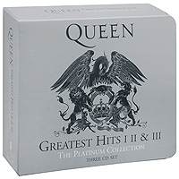 Queen Queen. The Platinum Collection. Greatest Hits I, II & III (3 CD) queen greatest hits ii 2 lp