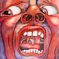 King Crimson King Crimson. In The Court Of Crimson King (LP) bevan robert destruction of memory