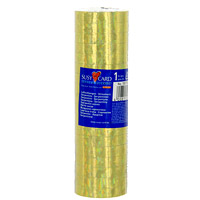 Серпантин Holo цвет золотой11144763Искрящиеся ленты голографического серпантина Holo помогут создать неповторимую волшебную атмосферу настоящего праздника. Характеристики: Ширина ленты: 0,7 см.Уважаемые клиенты!Обращаем ваше внимание на возможные изменения в дизайне, связанные с цветовым ассортиментом продукции. Поставка осуществляется в зависимости от наличия на складе. 18 рулонов серпантина.