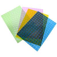 Набор транспарентной бумаги Folia, с 3D эффектом, 5 листов810409Транспарентная бумага Folia с оригинальным 3D рисунком прекрасно подходит для изготовления эксклюзивных подарочных сумочек, необычных открыток, фонариков и прочих дизайнерских вещей. Конструирование из транспарентной бумаги - необходимый для развития детей процесс. Во время занятия аппликацией ребенок сумеет разработать четкость движений, ловкость пальцев, аккуратность и внимательность.Характеристики: Размер листа: 23 см x 33 см.5 листов.