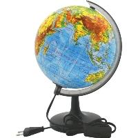 Глобус  Rotondo  с физической картой мира, с подсветкой. Диаметр 20 см -  Глобусы
