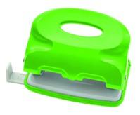 Дырокол Index Colourplay, цвет: неоновый зеленый. ICP110/GNICP110/GNПрактичный дырокол Index Colourplay на два отверстия в эргономичном корпусе с возможностью одновременной перфорации до 10 листов. Корпус выполнен из прочного пластика. Для выравнивания листов предусмотрена выдвижная линейка. Система очистки от конфетти One-Touch. Характеристики:Размер дырокола: 10 см х 6 см х 3,5 см. Материал: металл, пластик. Цвет: неоновый зеленый. Размер упаковки: 11 см х 6,5 см х 4,5 см.